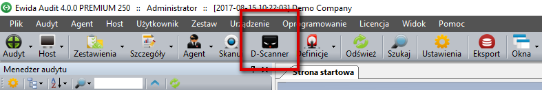ToolBar - DScanner