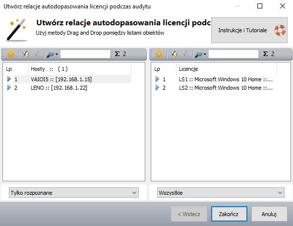 Audyt IT - Autodopasowanie licencji