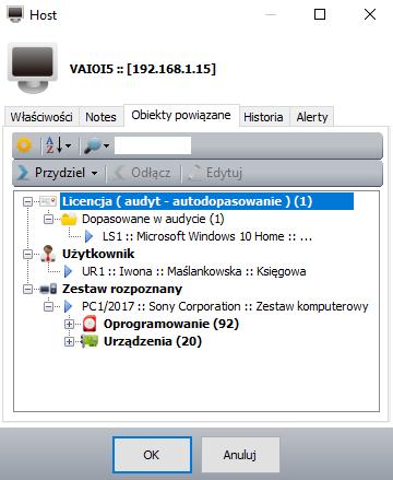 Audyt IT - Host