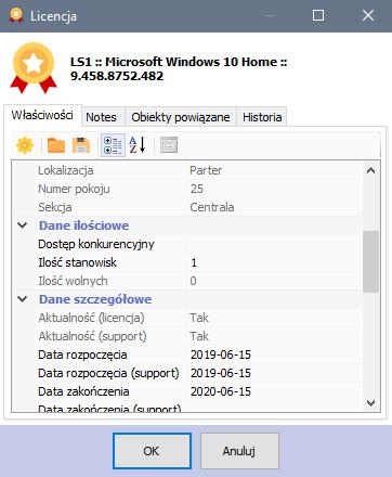 Audyt IT - Licencja